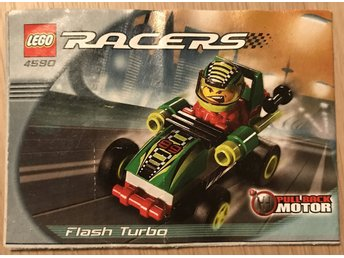 LEGO Racers 4590 (Flash Turbo) - Manual