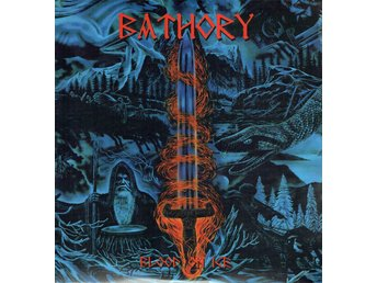 BATHORY - BLOOD ON ICE. 2xLP