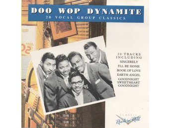 Doo Wop Dynamite 20 Vocal Group Classics. Funk, Soul, Blues