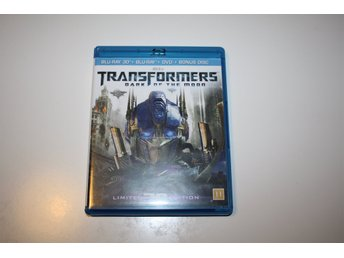 BLU-RAY - 3D - TRANSFORMERS DARK OF THE MOON
