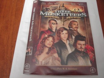 DVD-THE THREE MUSKETEERS *Jovovich, Bloom,Mikkelsen mfl*