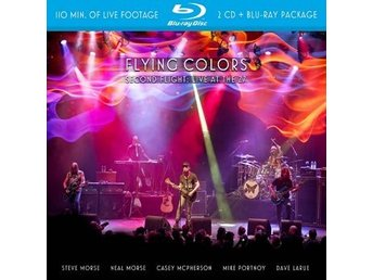 Flying Colors: Second flight/Live At The Z7 2014 (Blu-ray + 2 CD)
