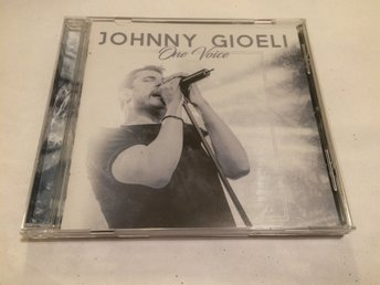 JOHNNY GIOELI One Voice CD 2018 Import Hardline Axel Rudi Pell