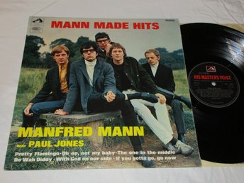 MANFRED MANN UK LP MANN MADE HITS!
