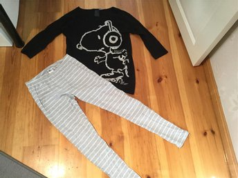 Snobben pyjamas strl 170 HM i bra skick - Malung - Snobben pyjamas strl 170 HM i bra skick - Malung