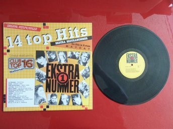14 TOP HITS, EKSTRA NUMMER, LP, LP-SKIVA