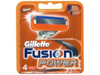 GILLETTE FUSION POWER - 4 RAKBLAD - POWERGLIDE