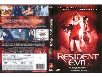 Resident Evil – 2002 – Milla Jovovich – Regissör: Paul W.S. Anderson – *UTGÅTT* - Malmö - Resident Evil – 2002 – Milla Jovovich – Regissör: Paul W.S. Anderson – *UTGÅTT* - Malmö