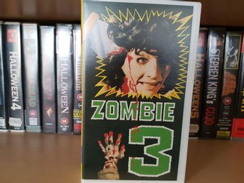 Zombie 3 VHS