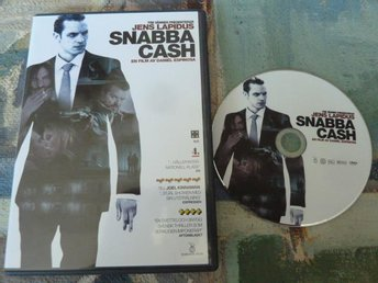 SNABBA CASH, THRILLER, DVD, FILM