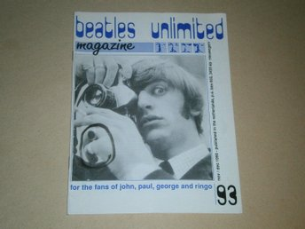 Beatles Unlimited #93 (November / December 1990) - Ok Skick!