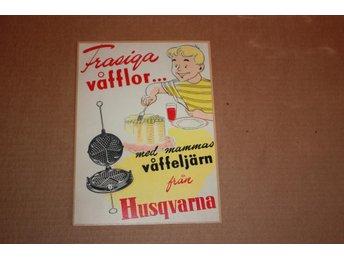 14 st Vykort Våfflor Husqvarna (R22) - Kopparberg - 14 st Vykort Våfflor Husqvarna (R22) - Kopparberg