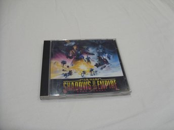 Star Wars Shadows of The Empire PC CD ROM Lucas Arts spel game