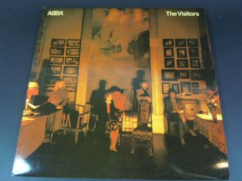 LP / VINYL / ALBUM / SKIVA - ABBA - THE VISITORS