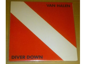 VAN HALEN - DIVER DOWN (LP) Warner Bros. Records [WB 57 003] Tyskland 1982