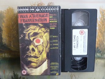I WAS A TEENAGE FRANKENSTEIN, VHS, VIDEOKASSETT, FILM
