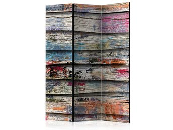 Rumsavdelare - Colourful Wood Room Dividers 135x172