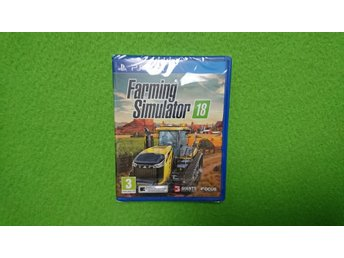Farming Simulator 18 NYTT INPLASTAT Playstation Vita ps