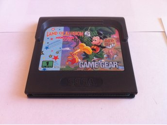 SEGA Game Gear: Land of Illusion - Starring Mickey Mouse