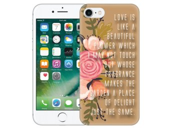 iPhone 7 Skal Beautiful Quote