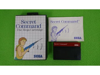 Secret Command KOMPLETT Sega Master System 8-bit dragon's