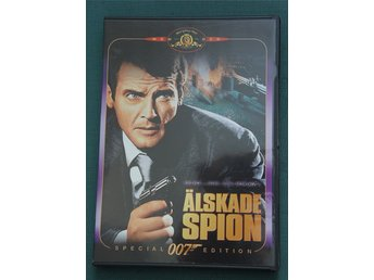 James Bond agent 007, Älskade Spion, DVD film i gott skick