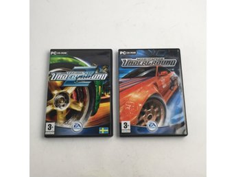 EA Games, PC-spel, Need for speed, 2st, Flerfärgad