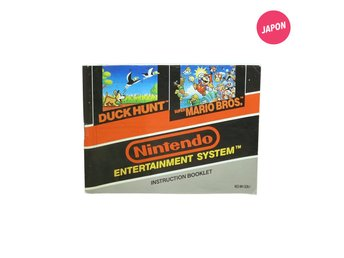 Super Mario Bros. / Duck Hunt (Manual / SCN-1 / NES)