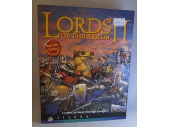 Lords of The Realm 2  Big Box Retro Pc spel Sierra