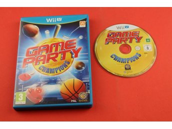 GAME PARTY CHAMPIONS till Nintendo Wii U