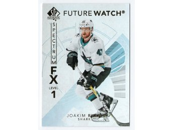 17-18 SP Authentic Spectrum FX Future Watch Bounty Joakim Ryan