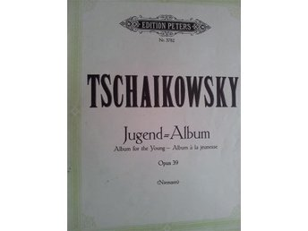 musik noter JUGEND-ALBUM Tjajkowski piano
