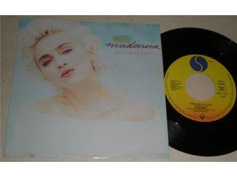 Madonna 45/PS The look of love 1983 VG - Farsta - Madonna 45/PS The look of love 1983 VG - Farsta