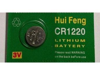 1st Knappcellsbatteri CR1220 - Ystad - 1st Knappcellsbatteri CR1220 - Ystad