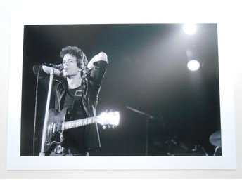 LOU REED - Live, Hammersmith Odeon 1975 - Putland - *A4*-print NME!