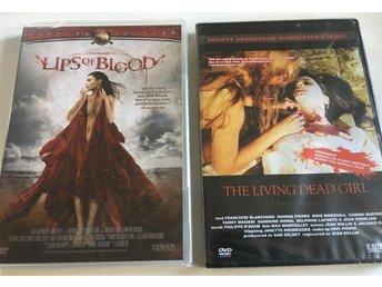 Lips Of Blood Living Dead Girl - 2 DVD, Inplastade. - Saltsjö-boo - Lips Of Blood Living Dead Girl - 2 DVD, Inplastade. - Saltsjö-boo