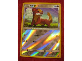 YUNGOOS - REVERSE HOLO POKEMON - SUN & MOON - 109/149 - Hörby - YUNGOOS - REVERSE HOLO POKEMON - SUN & MOON - 109/149 - Hörby