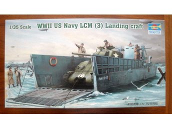 TRUMPETER ... WWII US Navy LCM (3) Landing craft