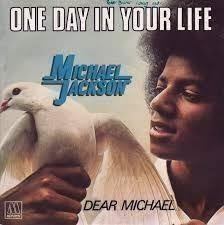 "LP-singel Michael Jackson ""One day in your life"""