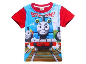 Newest Kids Boys Girls T-Shirts Cartoon Top Thomas Unisex Costume 7-8Yers #140 - Hörby - Newest Kids Boys Girls T-Shirts Cartoon Top Thomas Unisex Costume 7-8Yers #140 - Hörby