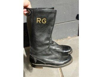Vintage RG biker boots, storlek 37 - Sölvesborg - Vintage RG biker boots, storlek 37 - Sölvesborg