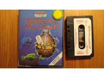 COMMODORE 64 originalspel... TERROR OF THE DEEP