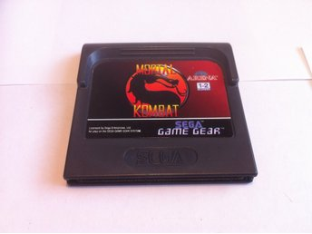 SEGA Game Gear: Mortal Kombat