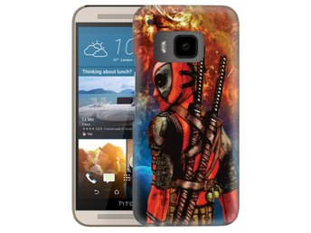 HTC One M9 Skal Deadpool Space