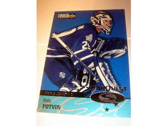F POTVIN  UD  COLLECTORS CHOICE 97-98  STARQUEST SQ29  NYTT