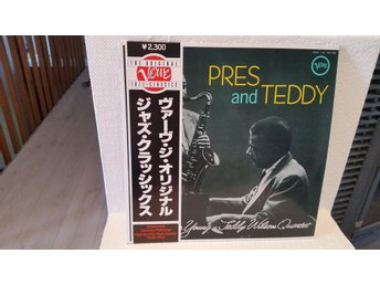 Pres and Teddy/The L.Young, T.Wilson Quartet (Högkvalitativ japanpress) M-
