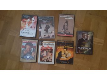 7 st DVD filmer Good morning Vietnam + Casablanca +Afrikas Drottning