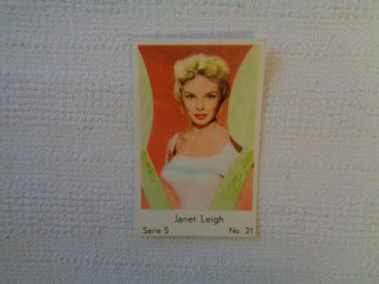 Nr 21 Janet Leigh- Serie S 1957- Stor text