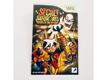 The secret saturdays Beasts of the 5th sun instuktionsbok (Manual / WII)