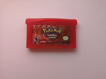Nintendo Gameboy  Advance  --  Pokemon Firered Fire red  --   U.S